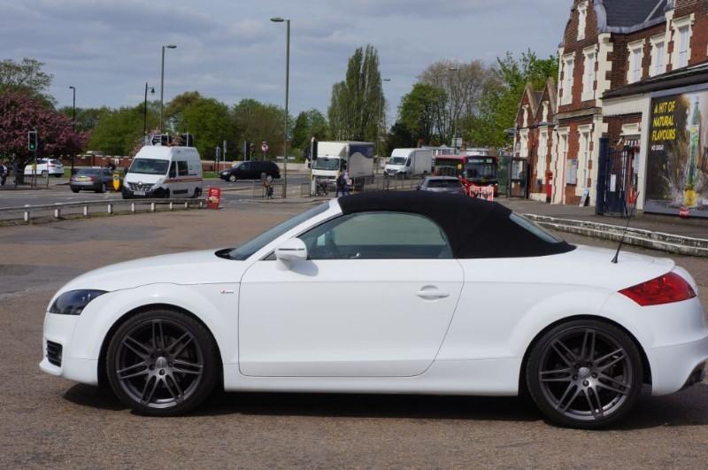 used Audi TT TDI QUATTRO S LINE SPECIAL EDITION in hampton-court-surrey