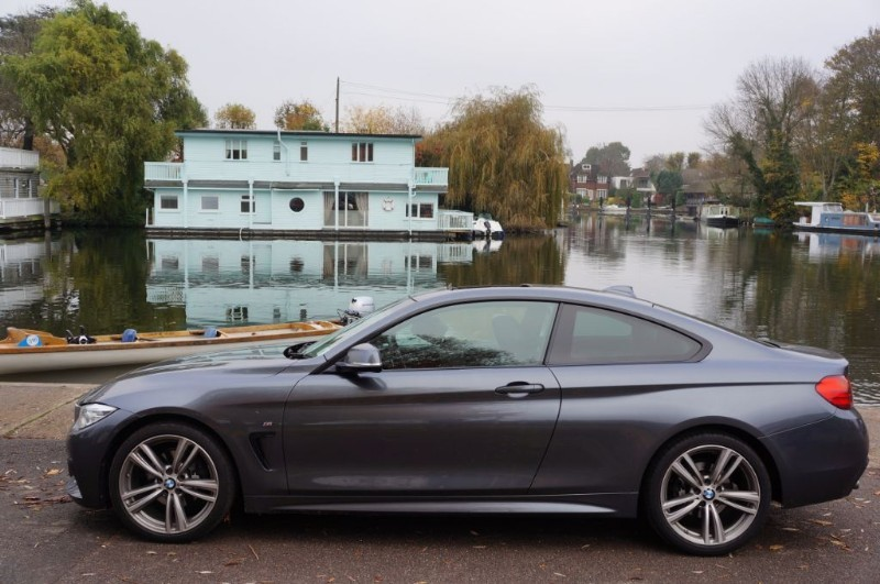 used BMW 420d M SPORT in hampton-court-surrey