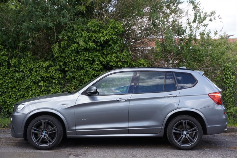 used BMW X3 XDRIVE20D M SPORT in hampton-court-surrey