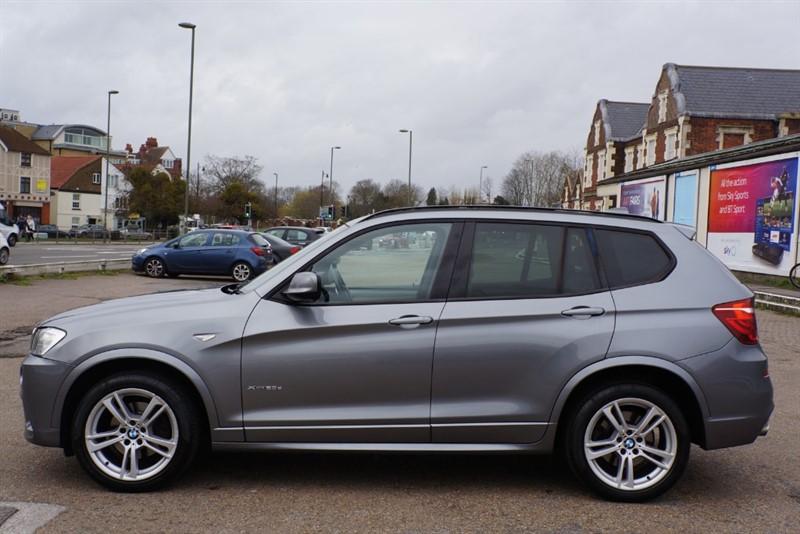 used BMW X3 XDRIVE20D M SPORT in hampton-court-surrey