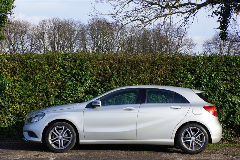 used Mercedes A180 BLUEEFFICIENCY SPORT in hampton-court-surrey