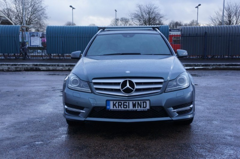 used Mercedes C350 CDI BLUEEFFICIENCY SPORT in hampton-court-surrey