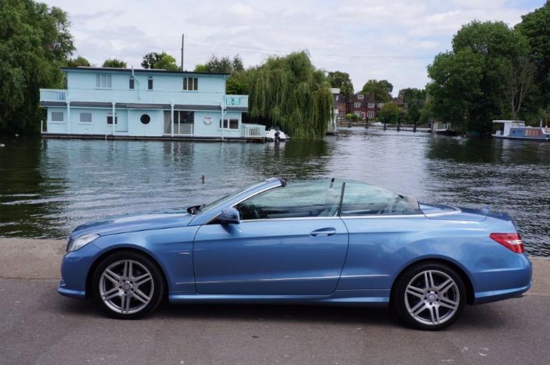 used Mercedes E250 CGI BLUEEFFICIENCY SPORT in hampton-court-surrey