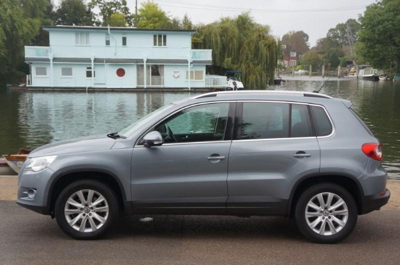 used VW Tiguan SE TDI in hampton-court-surrey