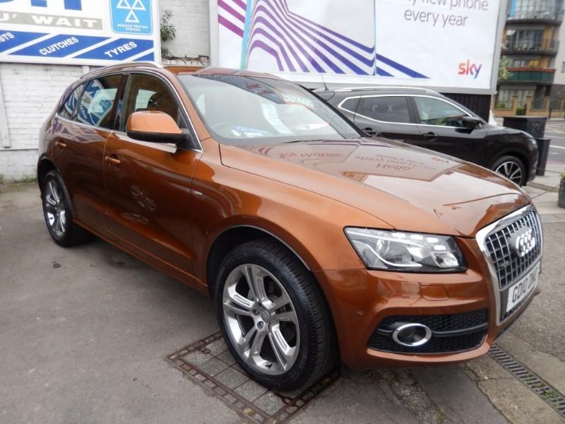 Used Audi Q5 TDI QUATTRO S LINE SPECIAL EDITION in croydon