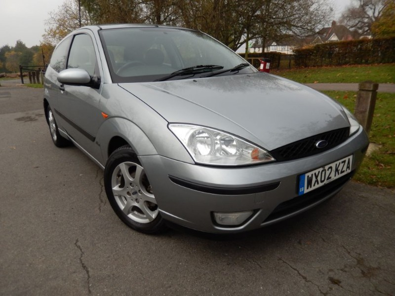 Used Ford Focus ZETEC SILVER Limited Edition in croydon