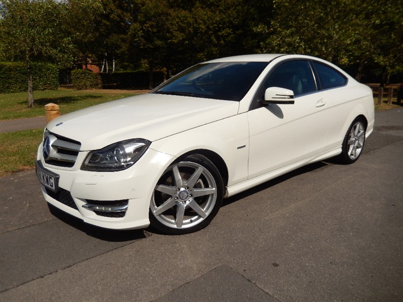 Used Mercedes C180 1.8 CGi BLUE-EFFICIENCY AMG SPORT COUPE in croydon