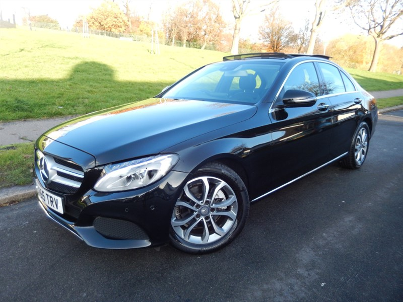 Used Mercedes C200 SPORT PREMIUM PLUS in croydon