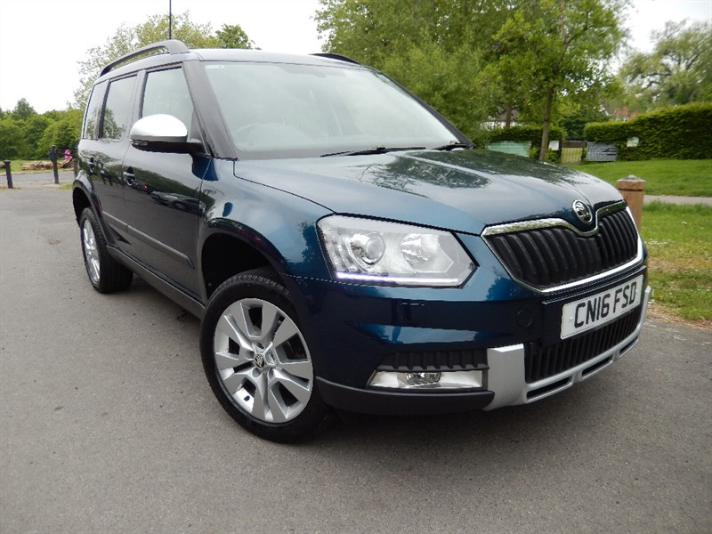 Used Skoda Yeti OUTDOOR SE L TSI DSG in croydon