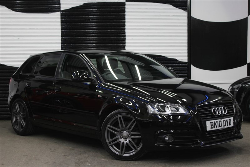 used Audi A3 SPORTBACK TDI S LINE SPECIAL EDITION in basingstoke-hampshire