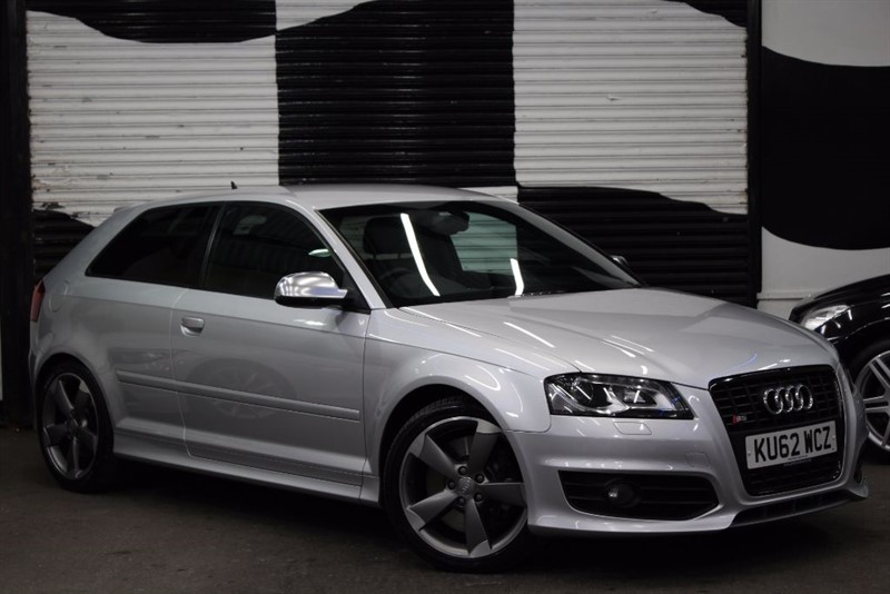 used Audi A3 S3 TFSI QUATTRO S LINE BLACK EDITION in basingstoke-hampshire