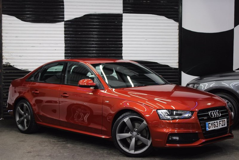used Audi A4 TDI QUATTRO S LINE BLACK EDITION S/S in basingstoke-hampshire