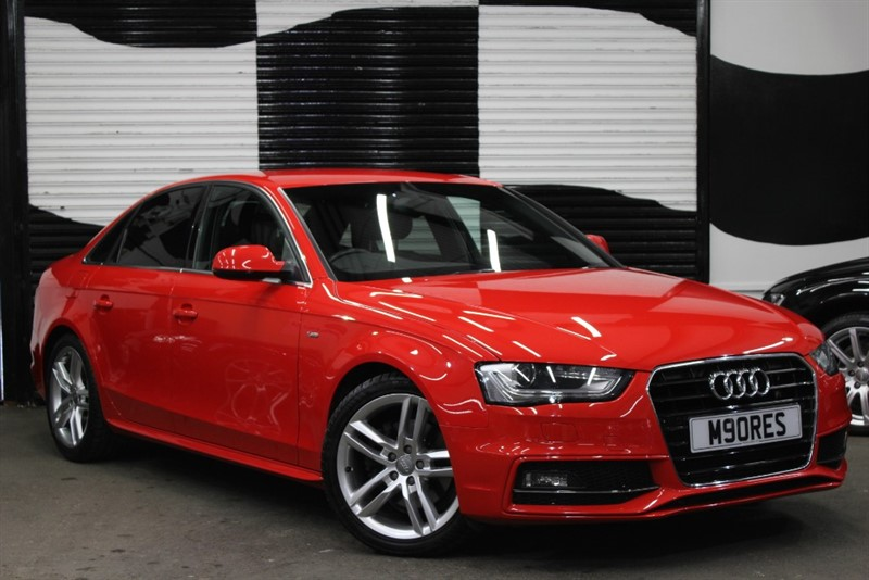 used Audi A4 TDI S LINE in basingstoke-hampshire