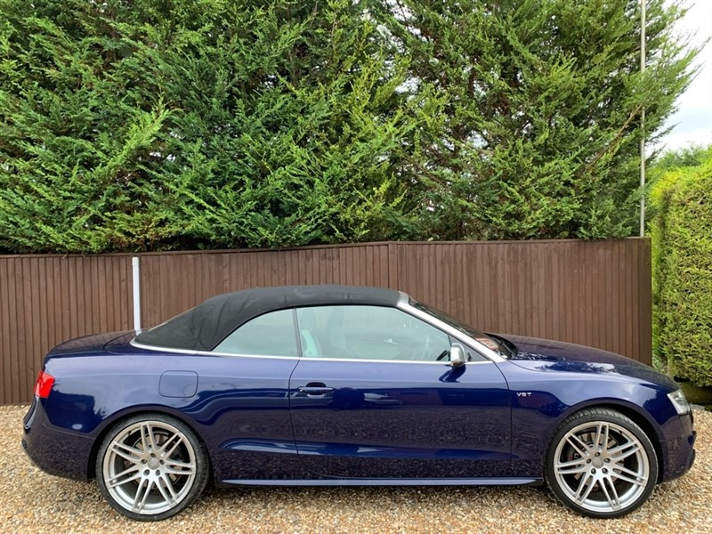 used Audi A5 S5 TFSI QUATTRO in basingstoke-hampshire