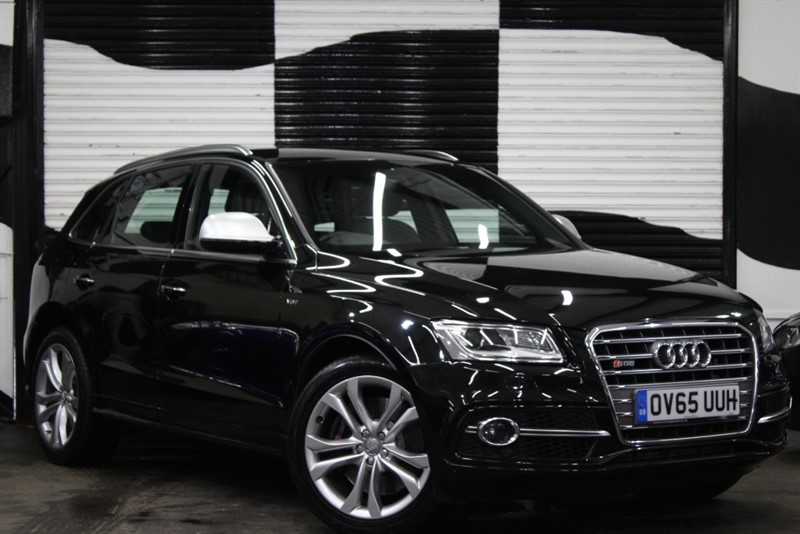 used Audi Q5 SQ5 TDI QUATTRO in basingstoke-hampshire