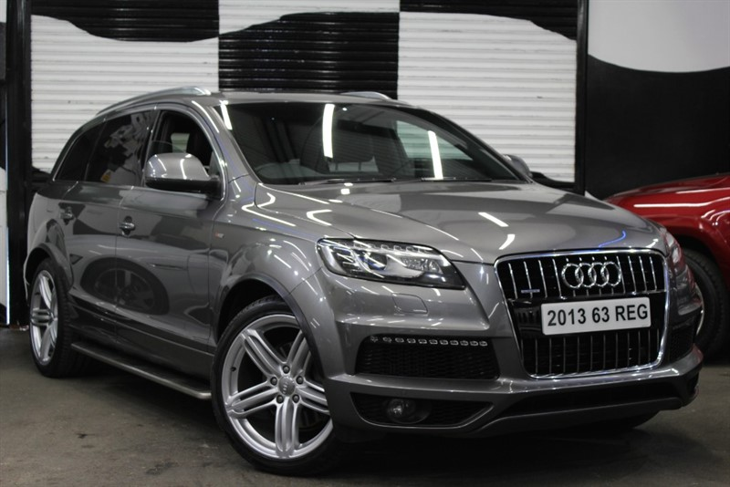 used Audi Q7 TDI QUATTRO S LINE PLUS in basingstoke-hampshire