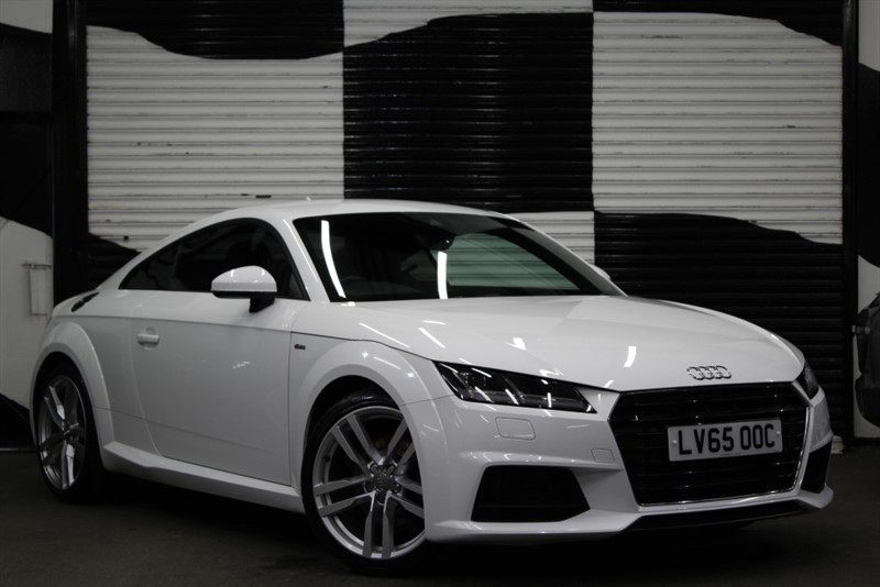 used Audi TT TFSI S LINE in basingstoke-hampshire