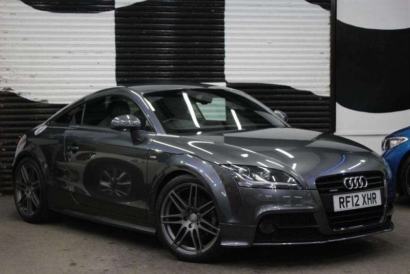 used Audi TT TDI QUATTRO S LINE BLACK EDITION in basingstoke-hampshire
