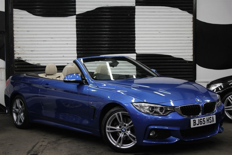 used BMW 420d M SPORT in basingstoke-hampshire