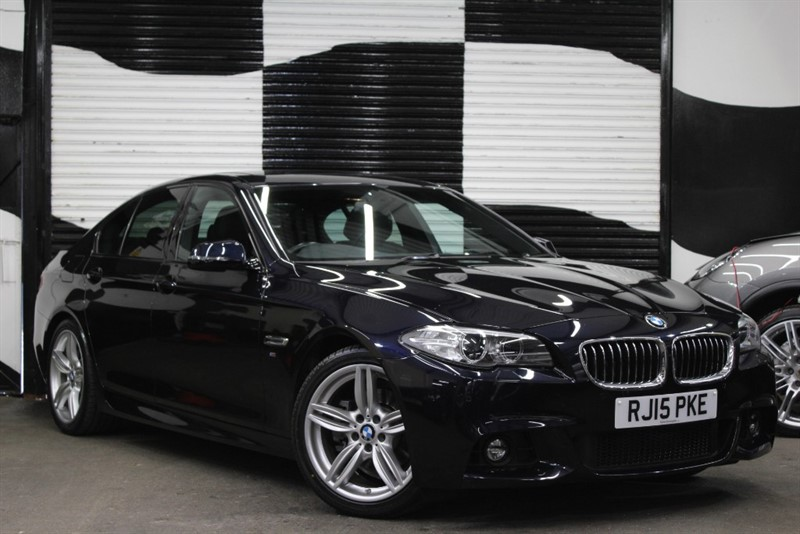 used BMW 520d M SPORT in basingstoke-hampshire