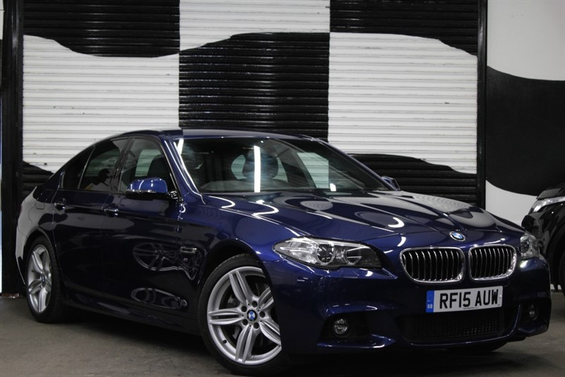 used BMW 525d M SPORT in basingstoke-hampshire