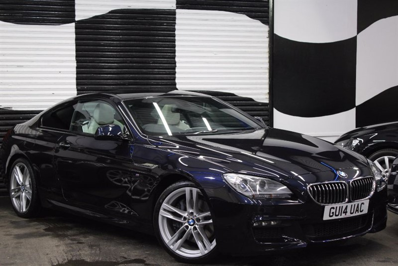 used BMW 640d 6 Series M Sport Coupe Auto 2dr in basingstoke-hampshire