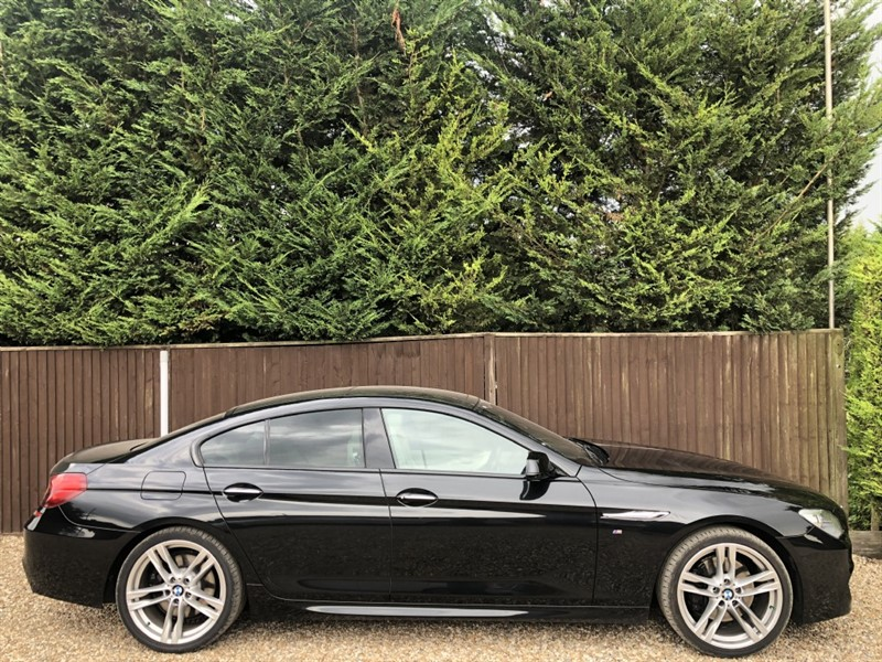 used BMW 640i M SPORT GRAN COUPE in basingstoke-hampshire