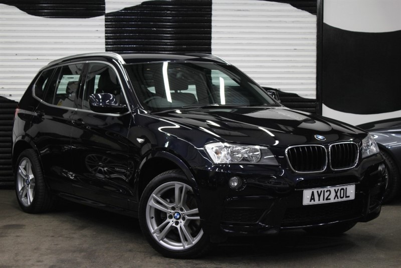 used BMW X3 XDRIVE20D M SPORT in basingstoke-hampshire