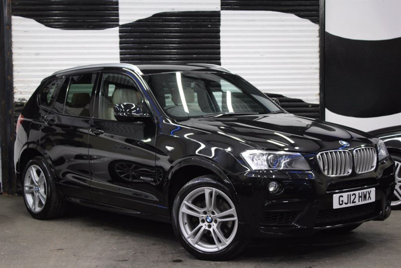 used BMW X3 XDRIVE35D M SPORT in basingstoke-hampshire