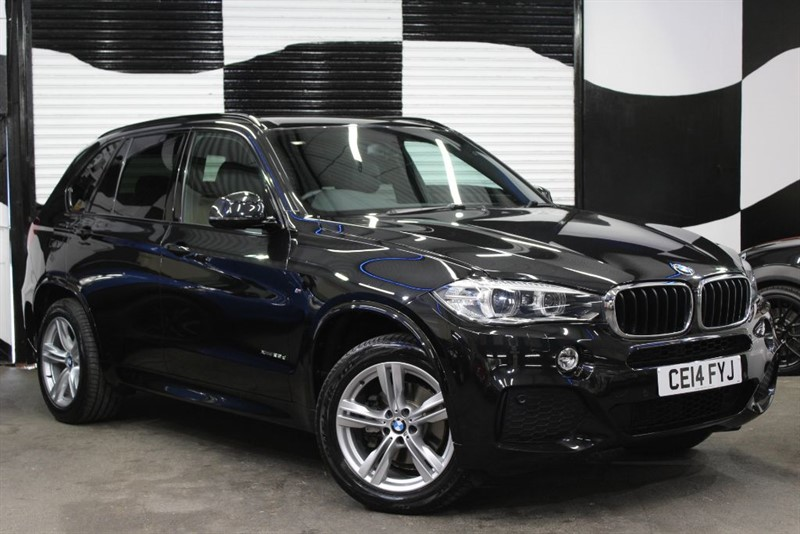 used BMW X5 XDRIVE25D M SPORT in basingstoke-hampshire