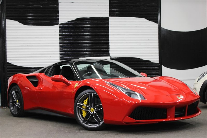used Ferrari 488 SPIDER in basingstoke-hampshire