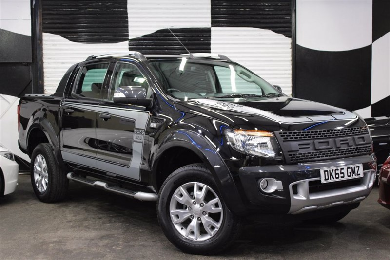 used Ford Ranger WILDTRAK 4X4 DCB TDCI in basingstoke-hampshire