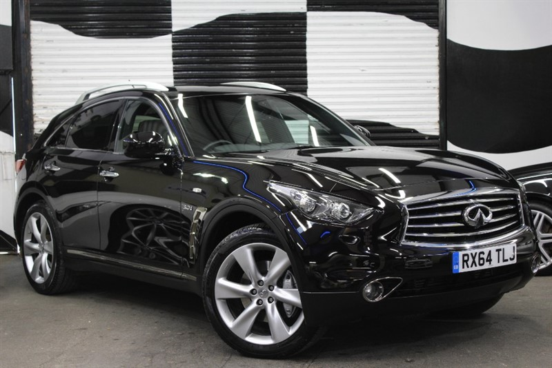 used Infiniti QX70 S PREMIUM D in basingstoke-hampshire