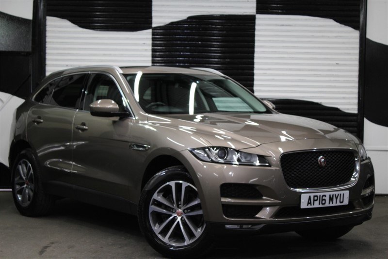 used Jaguar F-Pace PRESTIGE AWD in basingstoke-hampshire