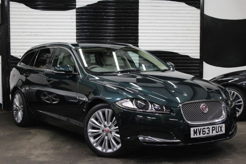 used Jaguar XF D PORTFOLIO SPORTBRAKE in basingstoke-hampshire