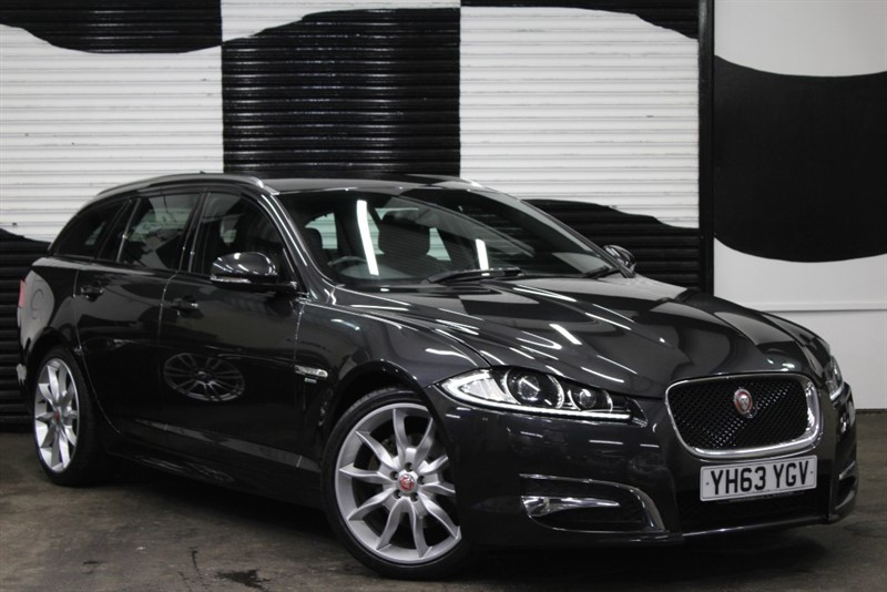 used Jaguar XF D R-SPORT SPORTBRAKE in basingstoke-hampshire