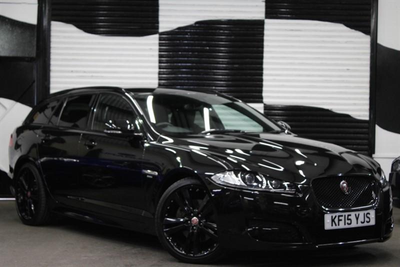 used Jaguar XF D R-SPORT BLACK SPORTBRAKE in basingstoke-hampshire