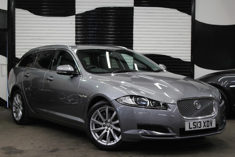 used Jaguar XF D PREMIUM LUXURY SPORTBRAKE in basingstoke-hampshire