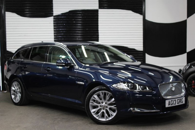 used Jaguar XF D LUXURY SPORTBRAKE in basingstoke-hampshire