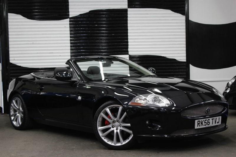 used Jaguar XK CONVERTIBLE in basingstoke-hampshire