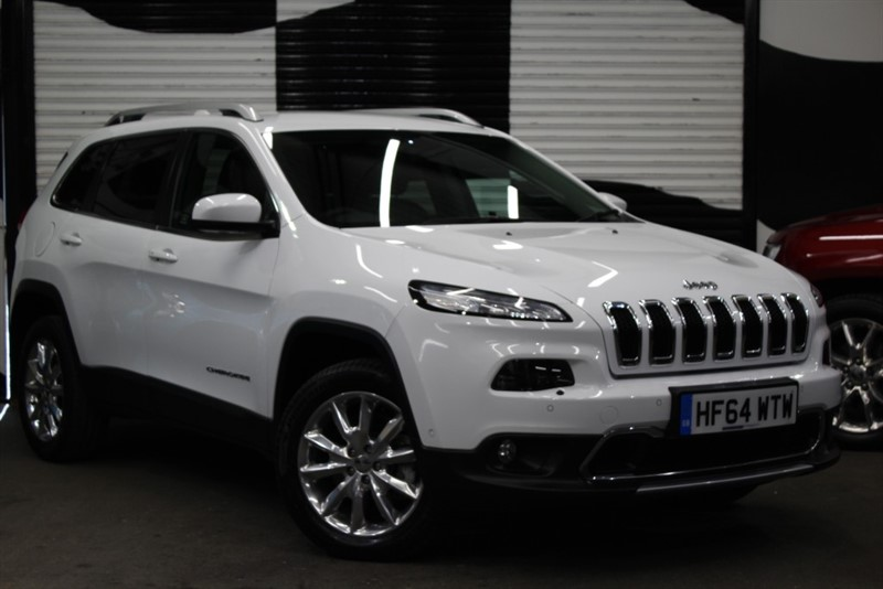 used Jeep Cherokee M-JET LIMITED in basingstoke-hampshire