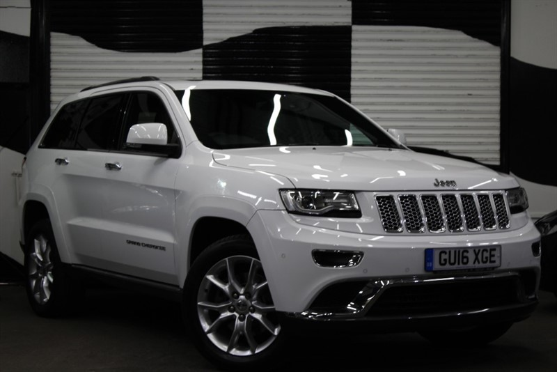 used Jeep Grand Cherokee V6 CRD SUMMIT in basingstoke-hampshire