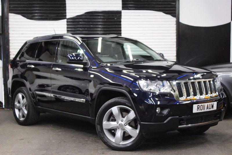 used Jeep Grand Cherokee V6 CRD OVERLAND in basingstoke-hampshire