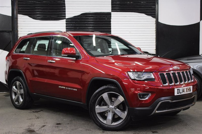 used Jeep Grand Cherokee V6 CRD LIMITED in basingstoke-hampshire