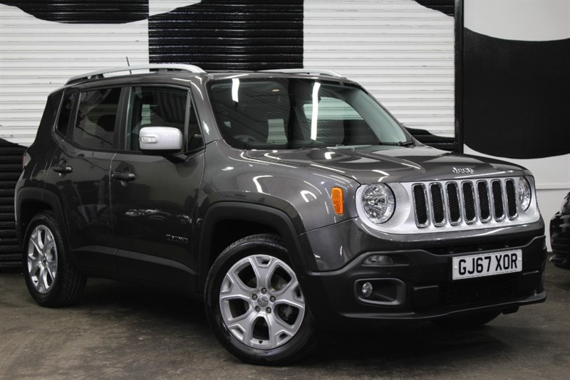 used Jeep Renegade LIMITED in basingstoke-hampshire