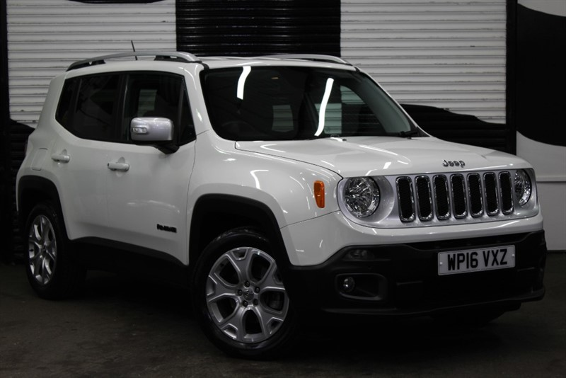 used Jeep Renegade M-JET LIMITED in basingstoke-hampshire
