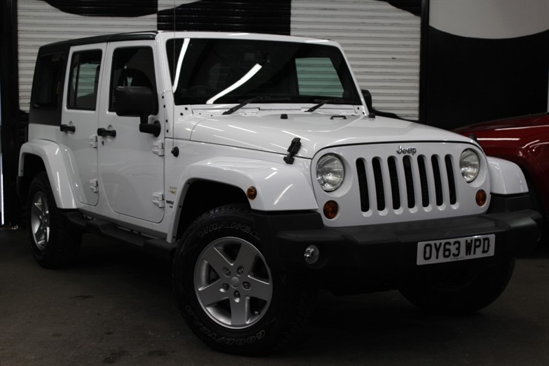 used Jeep Wrangler CRD SAHARA UNLIMITED in basingstoke-hampshire