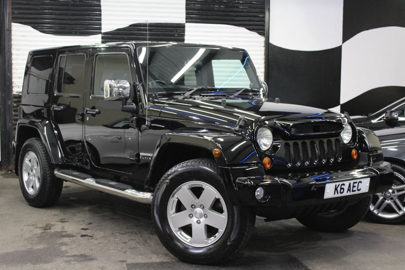 used Jeep Wrangler CRD SPORT UNLIMITED in basingstoke-hampshire
