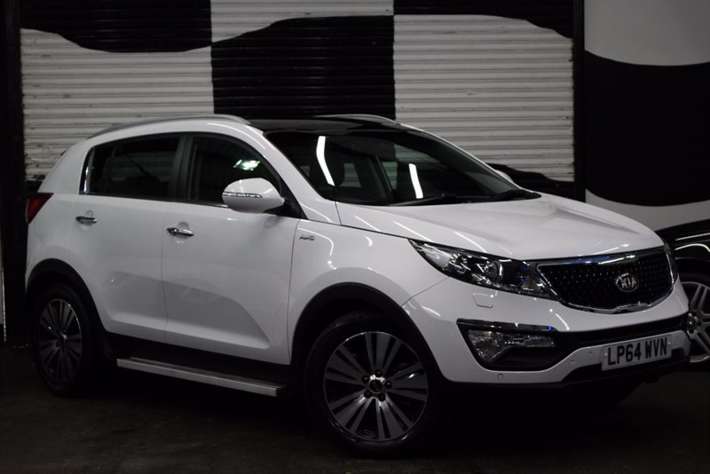 used Kia Sportage CRDI KX-4 in basingstoke-hampshire