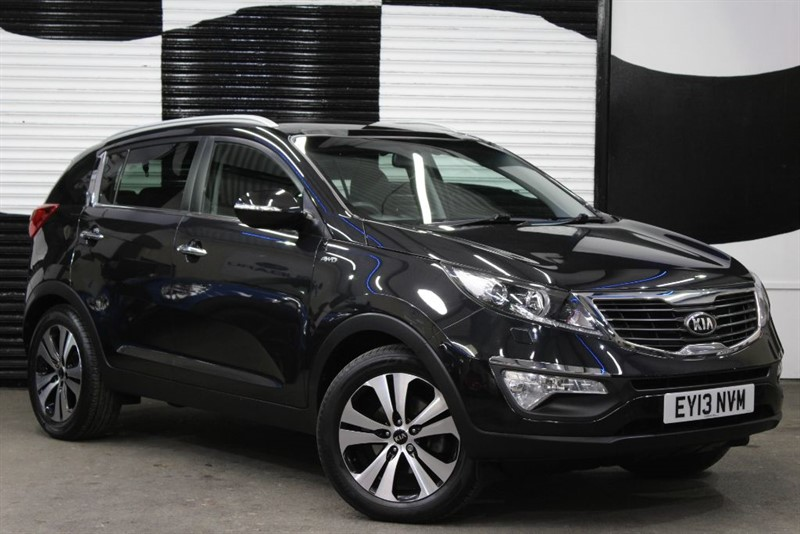 used Kia Sportage CRDI KX-3 in basingstoke-hampshire